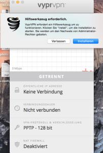 VyprVPN Mac OSX Installation
