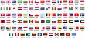 PurevPN, VPN-Server, VPN-Länderliste